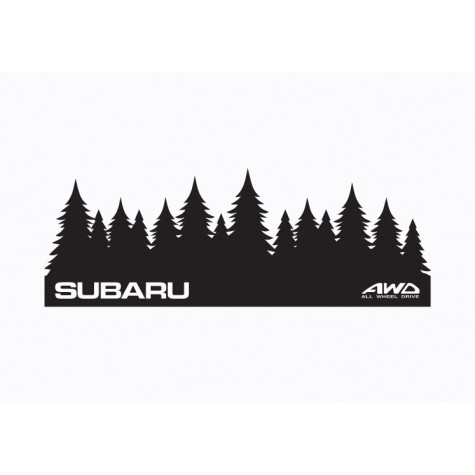 Subaru Graphic -  Forest