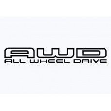 Subaru AWD Vinyl Sticker