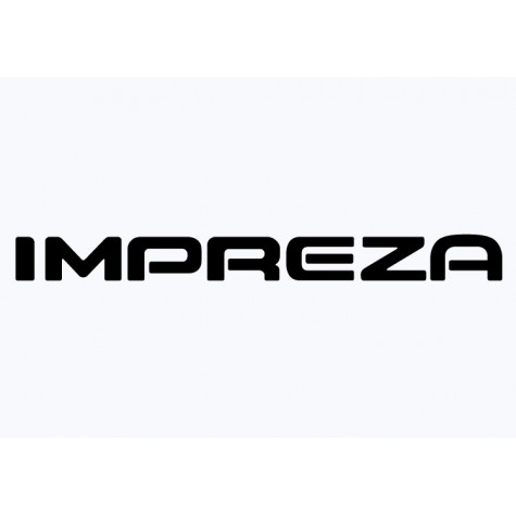 Subaru Graphic -  Impreza