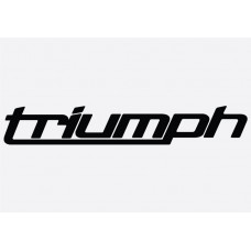 Bike Decal - Triumph 5