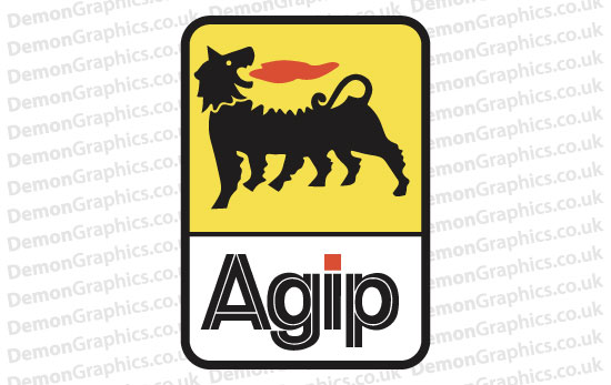 Bike Decal (Pair of) Agip 1