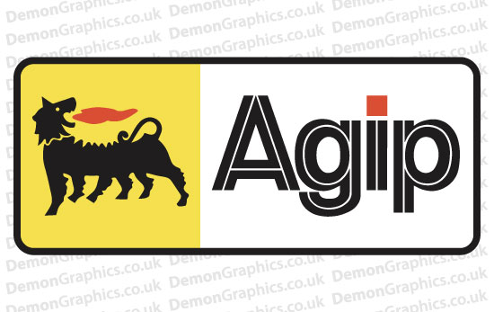 Bike Decal (Pair of) Agip 2