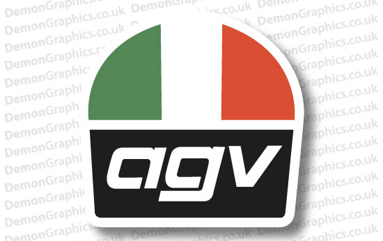 Bike Decal (Pair of) Agv