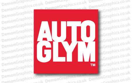 Autoglym Sticker