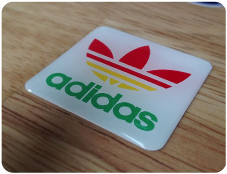 Adidas Colour Domed Retro Badge