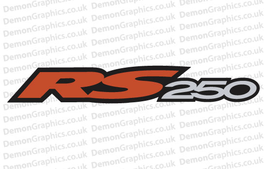 Bike Decal (Pair of) Aprilia 11