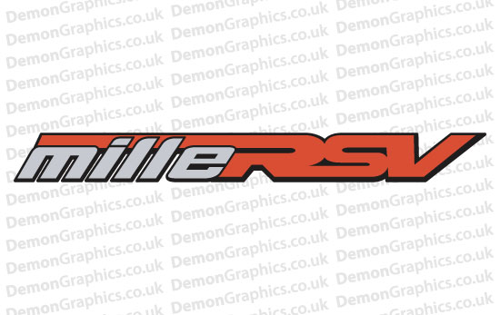Bike Decal (Pair of) Aprilia 13