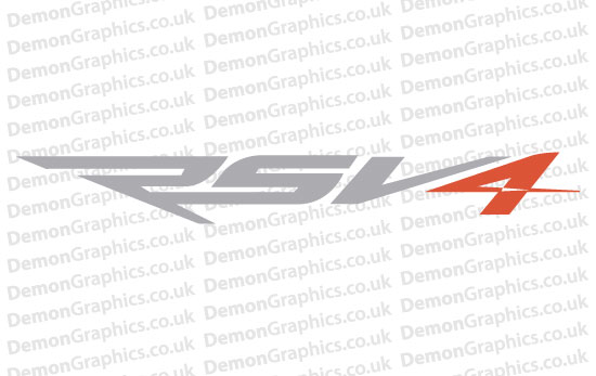 Bike Decal (Pair of) Aprilia 14