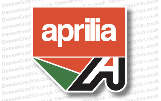 Bike Decal (Pair of) Aprilia 16