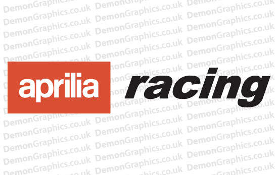 Bike Decal (Pair of) Aprilia 5