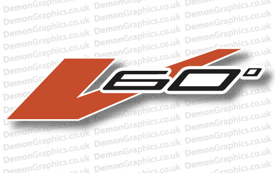 Bike Decal (Pair of) Aprilia 7