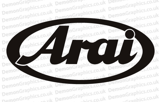 Bike Decal (Pair of) Arai