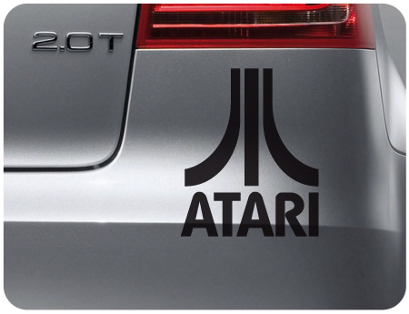 Atari 1 Retro Sticker