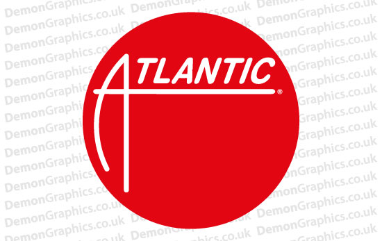 Atlantic Records 3 Sticker