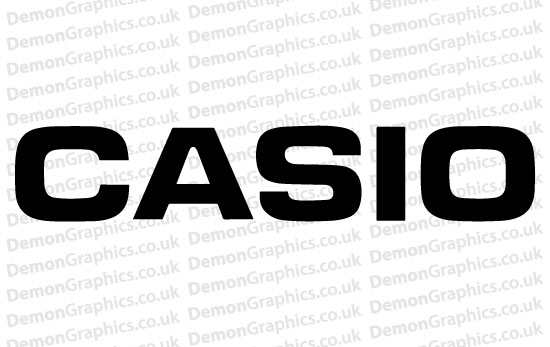 Casio Sticker