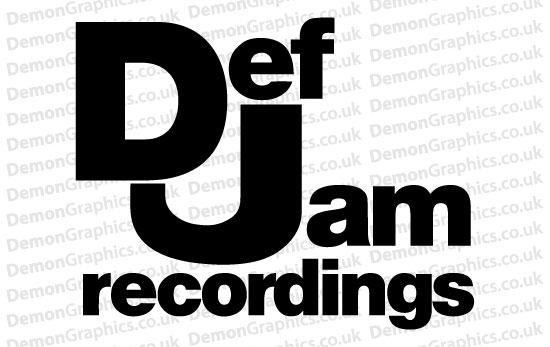 Def Jam Recordings Sticker