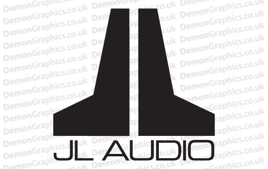 JL Audio Sticker