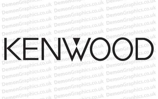 Kenwood Audio Decal