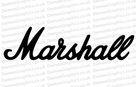 Marshall Sticker