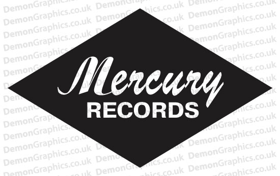 Mercury Records Sticker