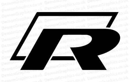 VW R Line Sticker