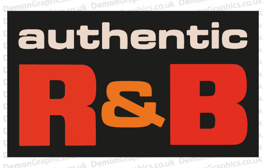 Authentic R&B Sticker