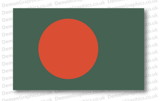 Bangladesh Flag (Pair)