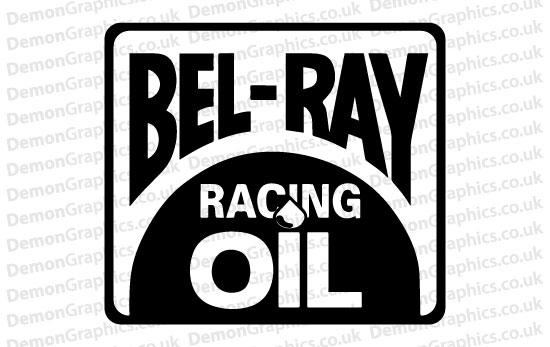 Bike Decal (Pair of) Bel-Ray Oil