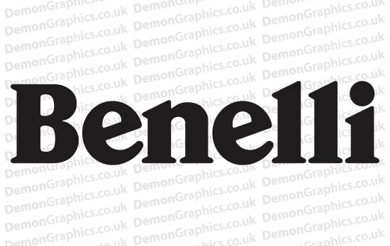 Bike Decal (Pair of) Benelli 1