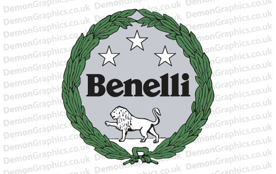 Bike Decal (Pair of) Benelli 2