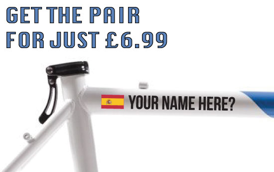 Spain Tag £6.99 for both sides