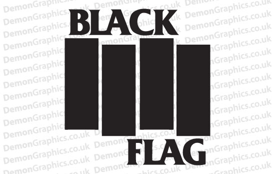 Black Flag Sticker