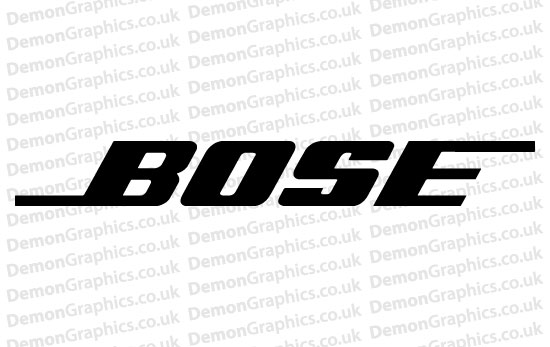 Bike Decal (Pair of) Bose