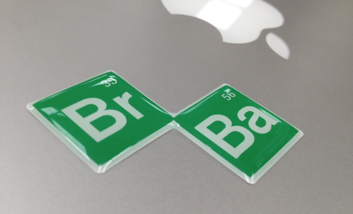 Breaking Bad Domed Sticker