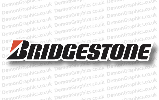 Bike Decal (Pair of) Bridgestone 1