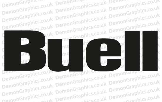 Bike Decal (Pair of) Buell 2