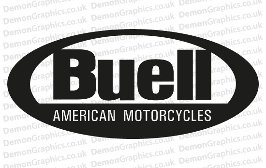 Bike Decal (Pair of) Buell 3