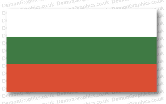 Bulgaria Flag (Pair)