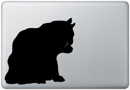 MacBook Cat Licking