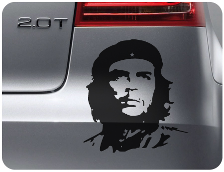 Che Guevara Sticker [Che Guevara Sticker] - £2.99 : Car Graphics by