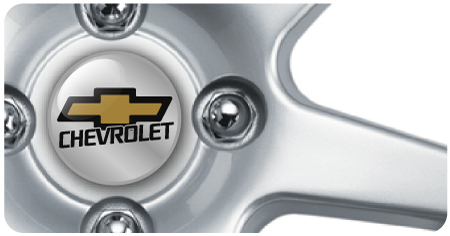 Wheel Centre Badges - Chevrolet (set of 4)