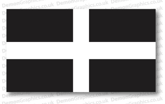 Cornwall Flag (Pair)