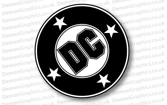 DC Comics Sticker