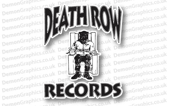Death Row Records Sticker