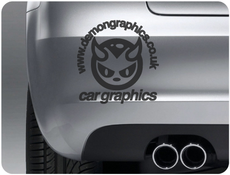 Demon Graphics Decal / Sticker