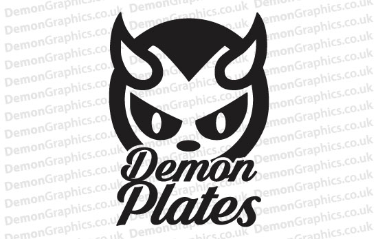 Demon Plates Sticker