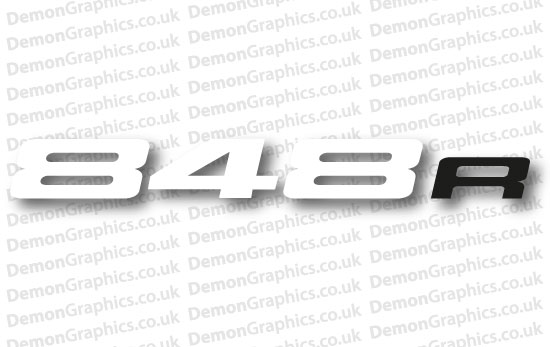 Bike Decal (Pair of) Ducati 9