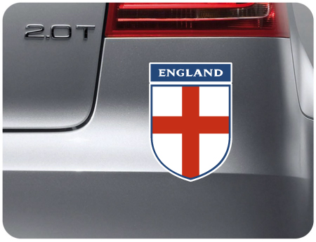 England Shield Sticker