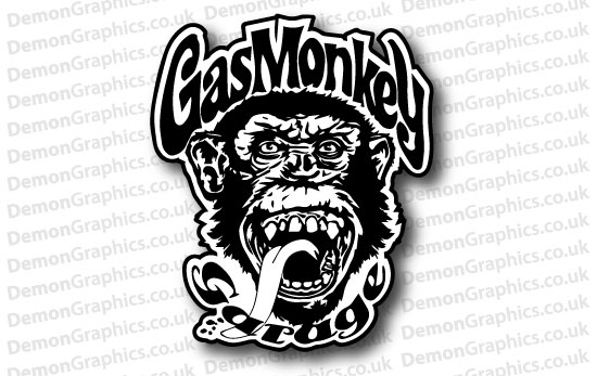 Gas Monkey Garage Sticker