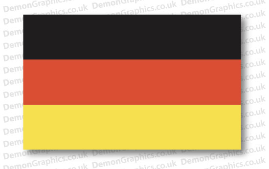 Germany Flag (Pair)
